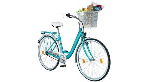 PERFORMANCE Citybike Damen Pisa, 26/28 Zoll, 3 Gang, Rücktrittbremse 66,04 cm (26 Zoll) (Rücktrittbremse Fahrrad)