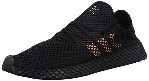 adidas Herren Deerupt Runner Gymnastikschuhe, Schwarz Core Black/Easy Orange/FTWR White, 45 1/3 EU