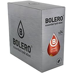 Paquete de 24 sobres bebida Bolero sabor Melocotón