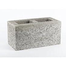 Buildershop UK 215mm 7n Hollow Concrete Blocks (Pack 32)