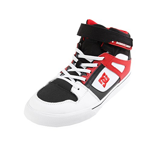 DC Spartan High EV Kids White Black Red 38