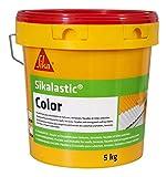 Morbido rivestimento di impermeabilizzazione Tetti/terrazze/facciate/lamiere ondulate–sikalastic color–5kg