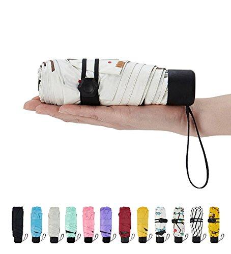 Leichter Mini Compact Reise Regenschirm - Winddicht Portable,KeKe030 (Winddicht Regenschirm Compact)