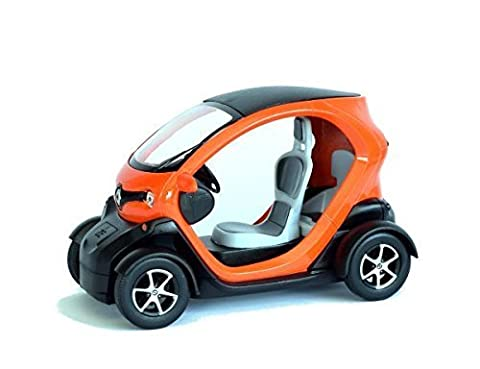 Renault 1 18 - Renault Twizy ZE orange Modèle de voiture