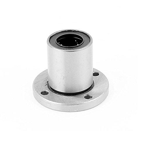 UXCELL A15091100UX0989LMF16UU 16mm diametro interno. Rotonda flangia cuscinetto lineare boccola CNC router, 0.63gomma