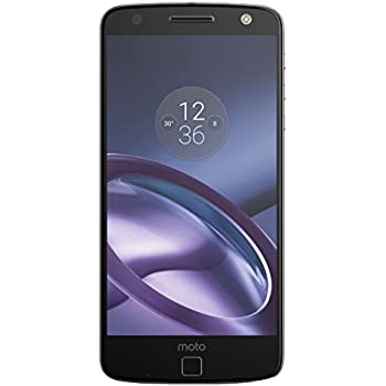 "Moto Z - Smartphone libre Android (5.5"", Bluetooth, 4 GB de RAM, 32 GB, 13 MP), color negro"