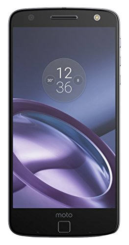 "Moto Z - Smartphone libre Android (5.5"", Bluetooth, 4 GB de RAM, 32 GB, 13 MP), color negro"