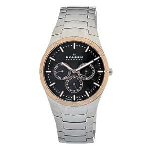 Skagen Herren-Armbanduhr XL Analog Quarz Titan 596XLTRXM