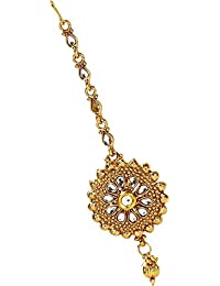 Penny Jewels Elegant Fashionable Stylish Unique Simple Maangtikka For Women & Girl