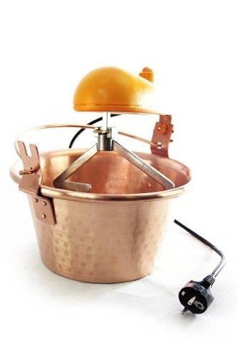 \'ARDES\' Kupfer Rührschüssel ❀ 24 cm ❀ Kupfertopf mit elektrischem Rührwerk