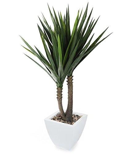 Closer To Nature Kunstpflanze 4ft Yucca Pflanze–Künstliche Seide und Baum Serie