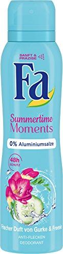Fa Summertime Moments Deospray, 6er Pack (6 x 150 ml)