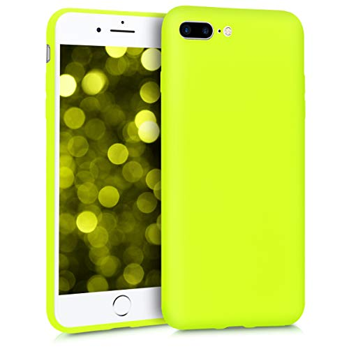 kwmobile Apple iPhone 7 Plus / 8 Plus Hülle - Handyhülle für Apple iPhone 7 Plus / 8 Plus - Handy Case in Neon Gelb