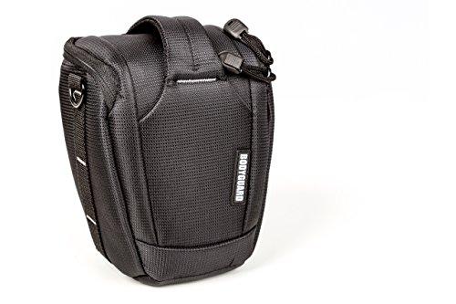 Colttasche Bodyguard Uno Colt M > Kameratasche mit Regencape für Spiegelreflexkameras mit Standardobjektiv bis 55mm (17cm Gesammthöhe) z.B. Canon EOS 70D 77D 80D 200D 1300D 700D 750D 760D 77D 800D Nikon D3300 D3400 D5100 D5300 D5500 D5600 D7200 D7500