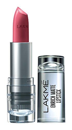 Lakme Enrich Matte Lipstick, Shade PM14, 4.7 g