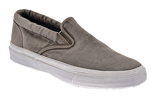 Sperry Striper Wash Baskets Basses Neuf Chaussur. Gris