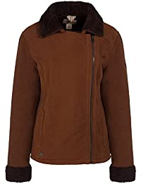Regatta Womens/Ladies Bernetta Asymmetric Zip Fur Pile Fleece Jacket