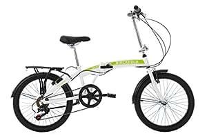 KS Cycling 133C Vélo Pliant Mixte Adulte, Blanc