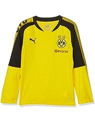 Puma BVB LS Training Jersey Sponsor Logo T-shirt