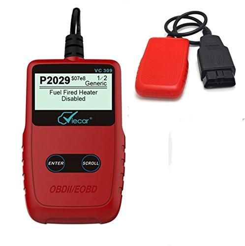 OBD-II Auto Diagnostic Scanner Outil , OBDII/EOBD Lecteur de Code - Pour OBD2 Protocole Véhicule - 1 Pcs - WildAuto