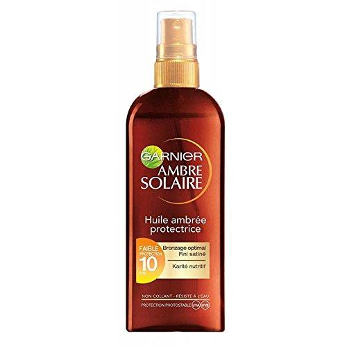 GARNIER - Ambre Solaire - Huile Ambrée Protectrice FPS10 - Spray 150ml