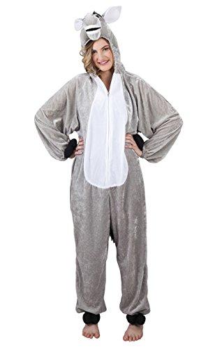 Boland 88011 Erwachsenenkostüm Esel Plüsch, - Winnie The Pooh Kostüm Männer