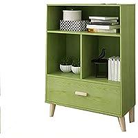 Bedside table Einfache Nachttisch, Stauraum Wohnzimmer Sofa Bücherregal, leicht zu Reinigen Montage, Schlafzimmer Wohnzimmer, 48 * 24 * 72CM preisvergleich bei kinderzimmerdekopreise.eu