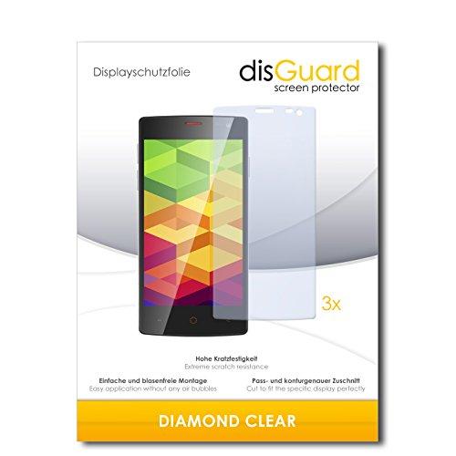 3 x disGuard® Schutzfolie Ulefone Be X Bildschirmschutz Folie