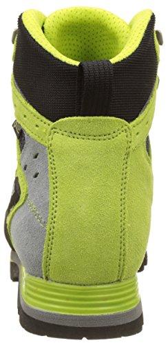 Asolo Shiraz Gv mm, Chaussures de Randonnée Hautes Homme Vert (Nero/Green Lime)