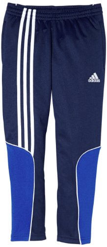 adidas Kinder Hose Sereno 11 Training, New Navy/Cobalt, 128, V38008 (Adidas Shorts Piping)