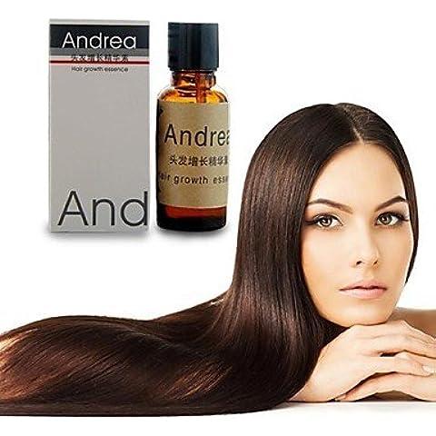 OOFAY JF® 2pcs lucha contra la pérdida de cabello 20 ml de líquido rápido crecimiento del pelo denso del pelo del resplandor solar crecimiento del