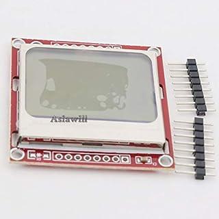 Asiawill NOKIA 5110 LCD Modul PCD8544 Anzeige Controller Board für Arduino