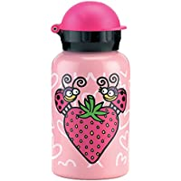 Laken Kukuxumusu Botella Infantil Térmica 0,35L Rosa de Acero Inoxidable Tapón HIT