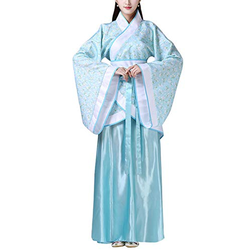 Yudesun Aristokratisch Chinesisch Hanfu Kostüm - Chinesischen Stil Kostüm Damen Kleid Aufführungen Tang Anzug Traditionelle Bekleidung Hanfu Cosplay