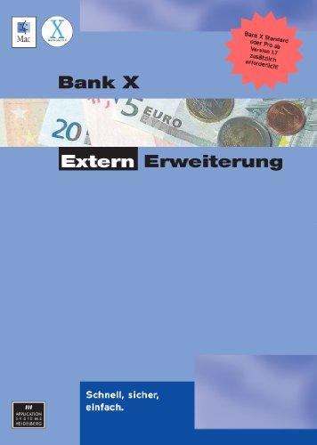 Bank X Extern-Erweiterung