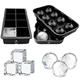 Best Ice Cube Trays With Covers - PRIME HORIZON Ice Cube Tray - Silicone Ice Review