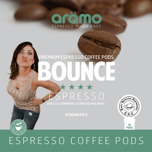 Aromo 'BOUNCE' - ESE Coffee Pods - 100% Arabica - 100 Pk - Free Delivery