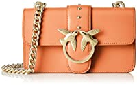 Pinko Mini Love Simply 3 Tracolla Vitello Seta - Shoppers y bolsos de hombro Mujer de Pinko