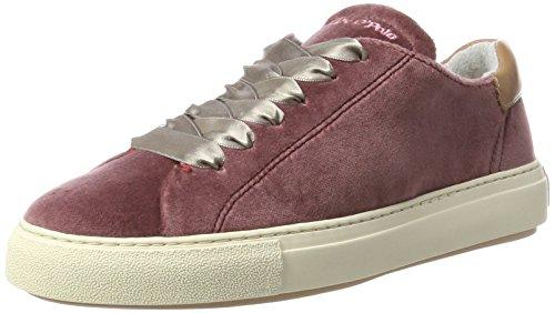 Marc O\'Polo Damen Sneaker 70714053501603, Rot (Rose), 39 EU