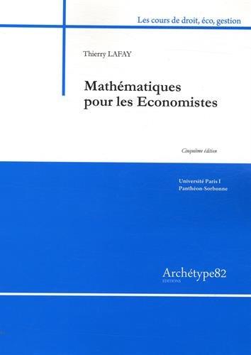 Mathématiques pour les économistes L2