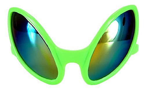se Encounter Kostüm Glasses Kids to Erwachsene One Size grün, One size (Erwachsene Insekten Kostüme)