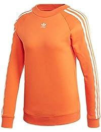 adidas TRF Crew Sweat Sudadera, Mujer, (naranj), 28