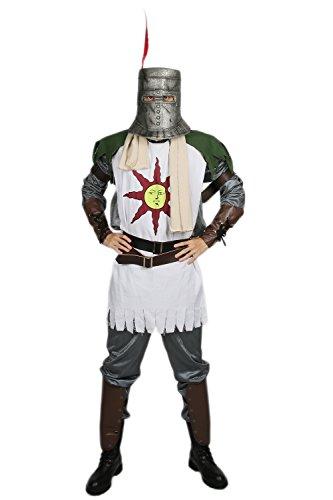 Halloween Solaire Kostüm Herren Deluxe Cosplay Outfit mit Zubehör für Erwachsene Verrücktes Kleidung Merchandise Replik