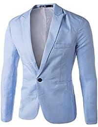 Amazon.fr   costume homme bleu ciel - Homme   Vêtements b29c4888020