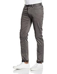 Armani Jeans para hombre Slim-fit elástico comodidad tela gaberdine ... 4716a02f859e