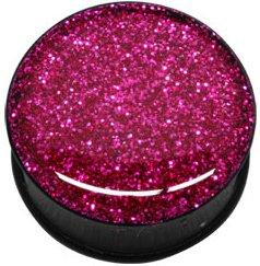 pour-lobe-doreille-noir-en-acrylique-transparent-glitter-pink-glitter-epoxy-vis-12-mm