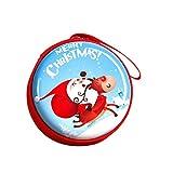 Panamami Praktische schöne Weihnachten Pralinenschachtel Tasche Geschenke Inhaber Neujahr Geld Münze Kopfhörer Snack Supplies Verpackung Box