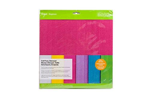 Provo Craft Novelty Inc.-schiuma, effetto consumato, multicolore, 30,48 x 30,48 (12-Inch) x 12 cm, confezione da 6