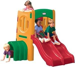 little tikes 4261 plein air aire de jeu gym 2 toboggans sunshine jeux et. Black Bedroom Furniture Sets. Home Design Ideas