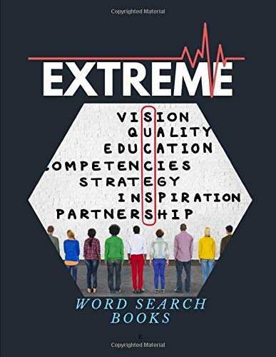 Extreme Word Search Books: Activity Book Very Fun Search and Word Search, Brain exercise that everyone will love.
